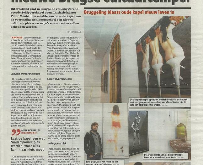 Expo @ Schipperskapel Brugge